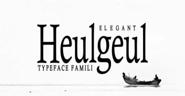 Heulgeul [3 Fonts]