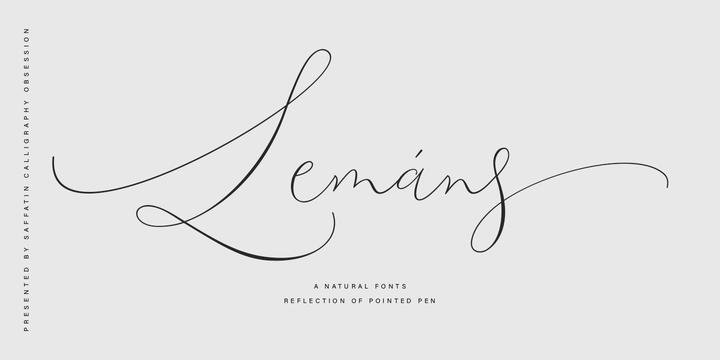 Lemans Pen Script [1 Font]