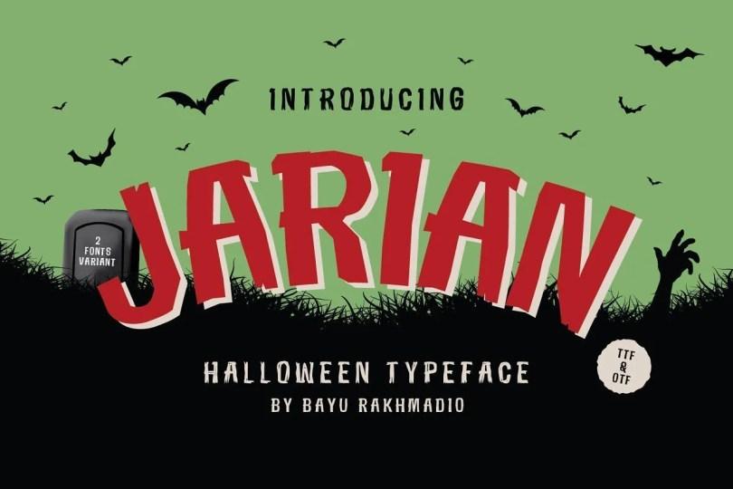 Jarian [2 Fonts]
