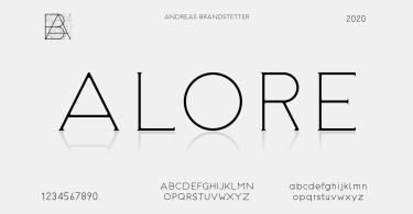 Alore [3 Fonts]