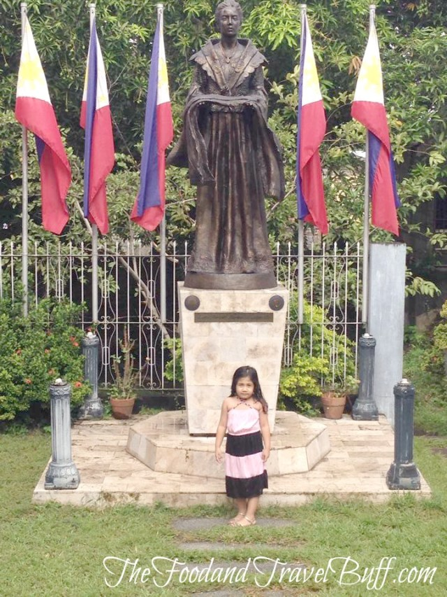 Proud to visit the house of the Mother of the Philippine flag!