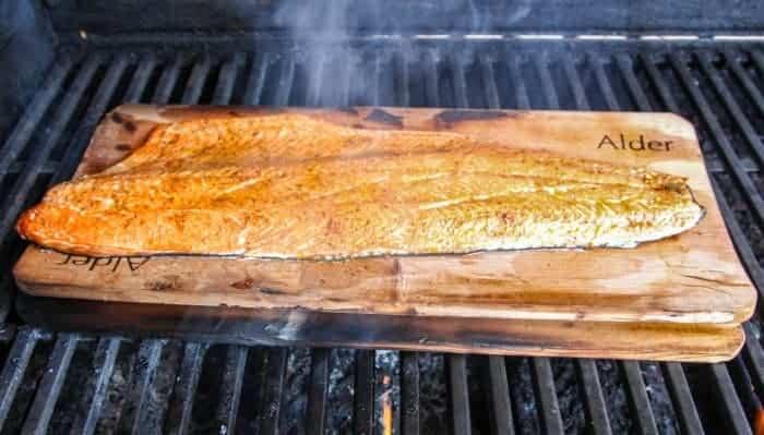BC Wild Salmon Planked on Alder