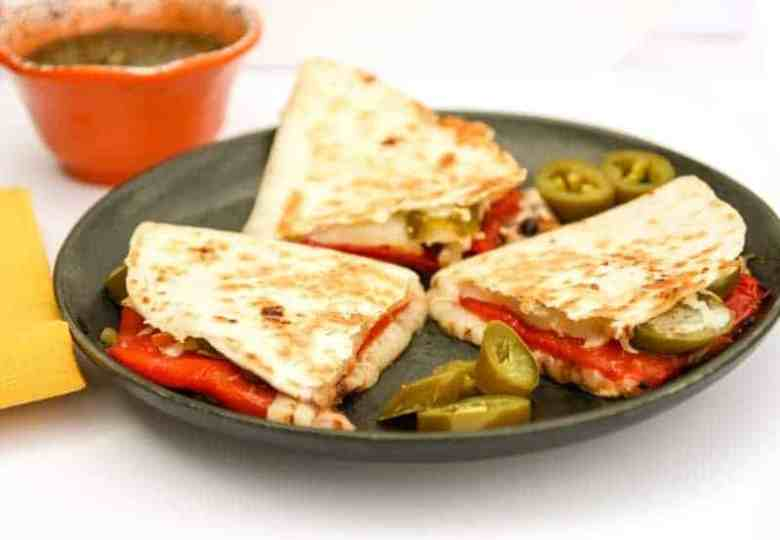 Quesadillas Roasted Red Pepper & Jalapeno (1 of 1)