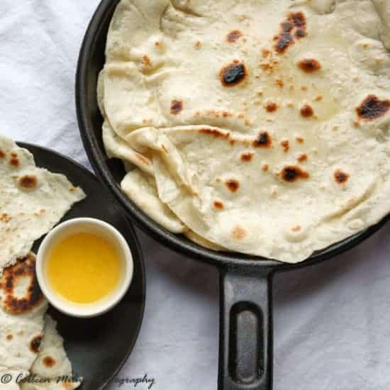 Easy homemade naan bread recipe the food blog naan bread recipe from scratch forumfinder Gallery