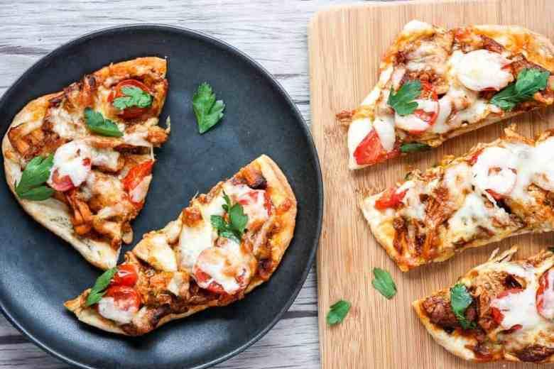 Chicken Tikka Masala Pizza- Naan Pizza