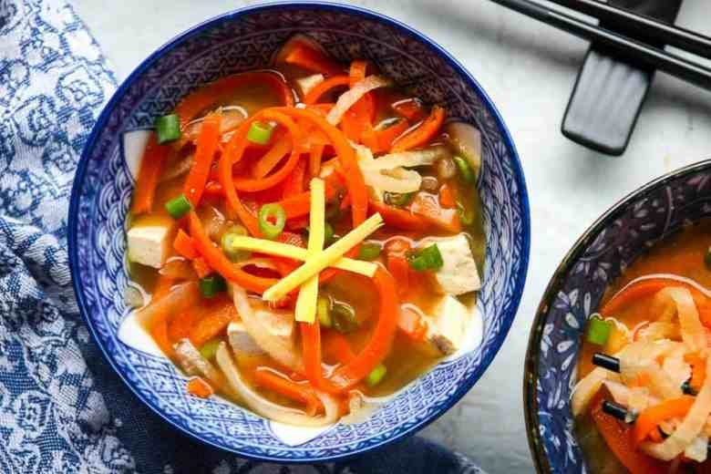 Vegetable Miso Soup