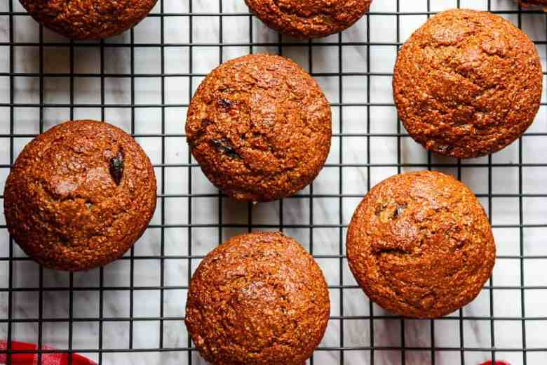 Bran Muffins – Bacon, Molasses & Date Bran Muffins