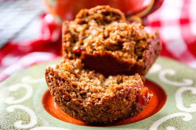 Bacon, Molasses, Date Bran Muffins