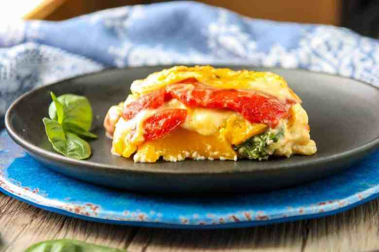 Vegetarian Roasted Vegetable Lasagna | The Food Blog