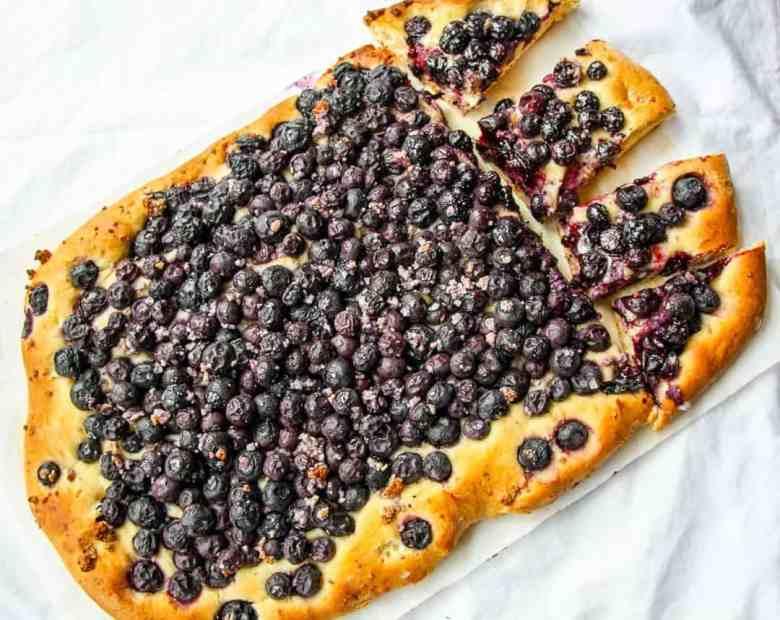 Mustikkapiirakka – Finnish Blueberry Pie