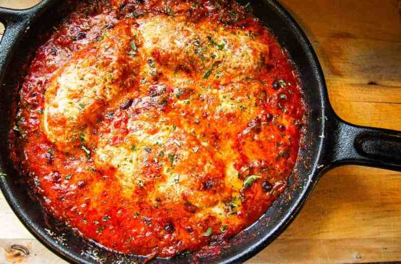 Insanely Easy Spinach Chicken Parmesan Recipe