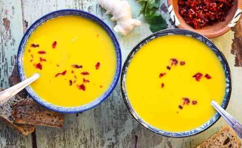 Carrot & Red Lentil Soup