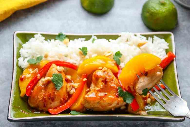 Thai Peach Chicken