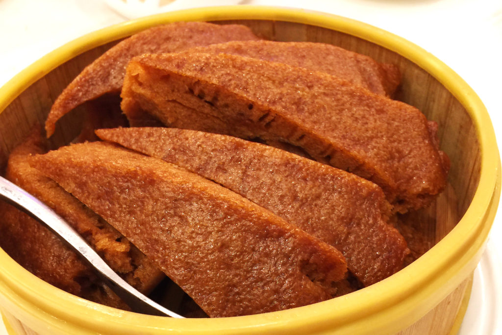 steamed malay cake