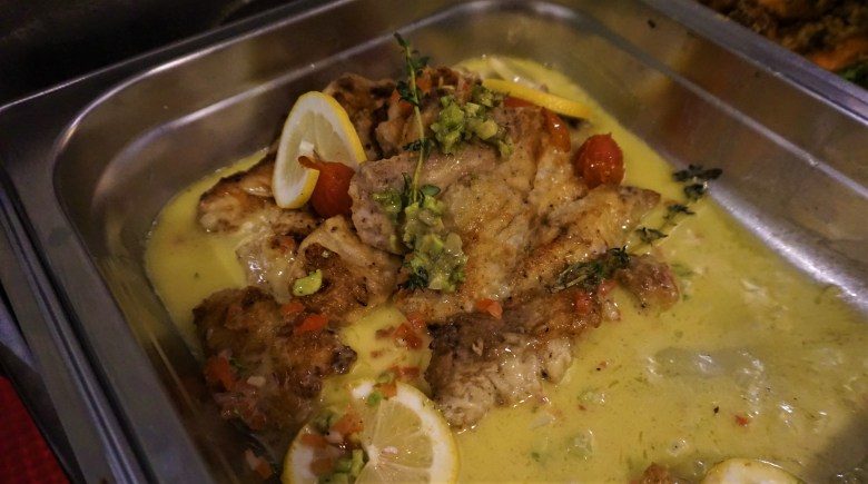 grilled snapper with lemongrass sauce