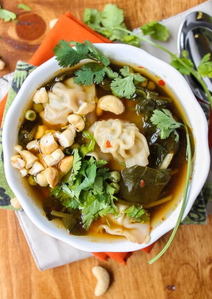 10 Minute Wonton Soup - The Food Charlatan