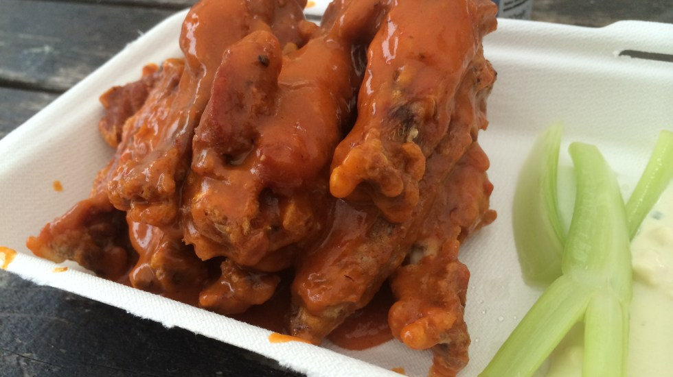 the orange buffalo original wingss
