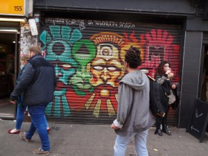 Street art Brick Lane
