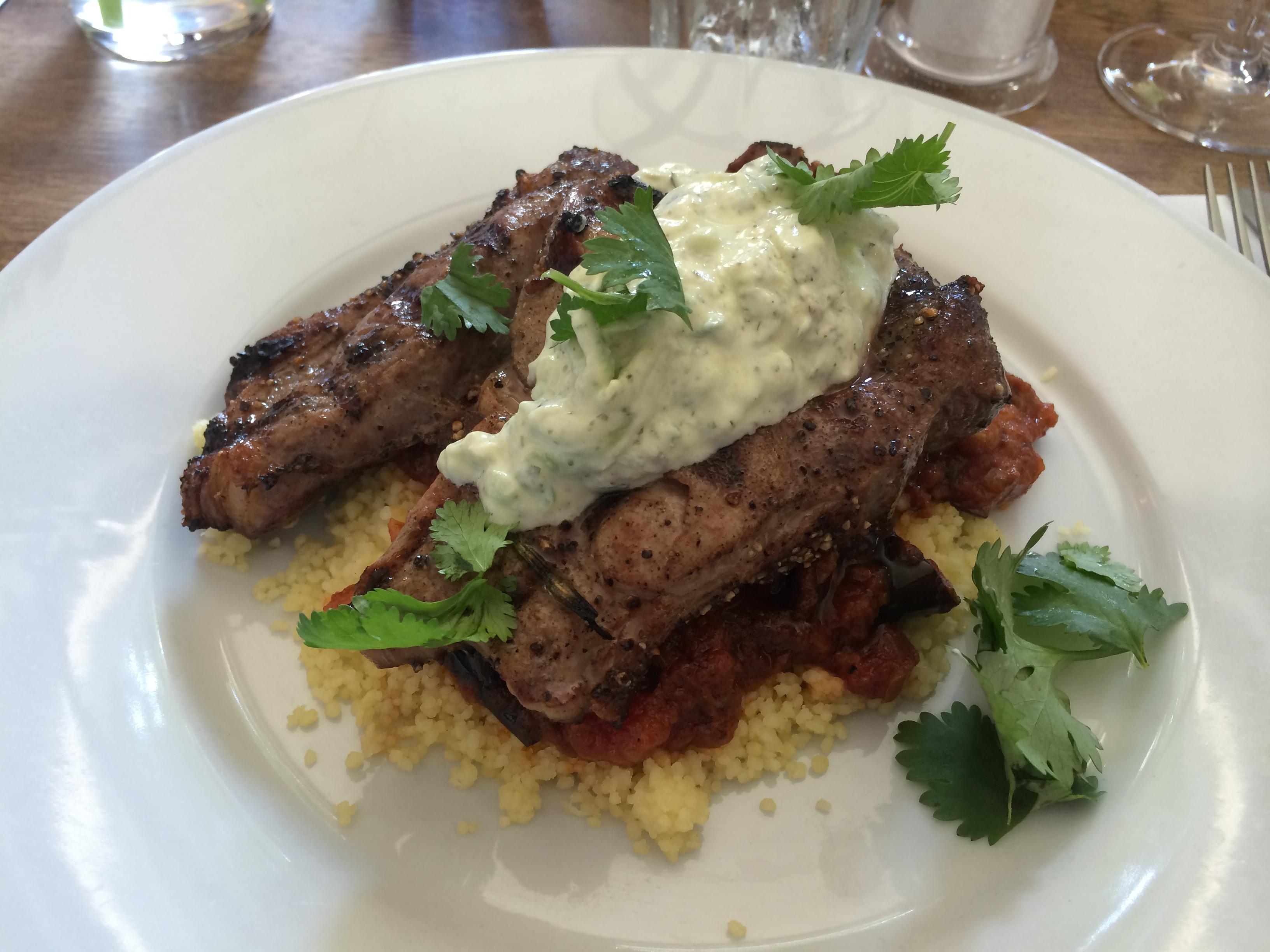 Havelock Tavern lamb steak