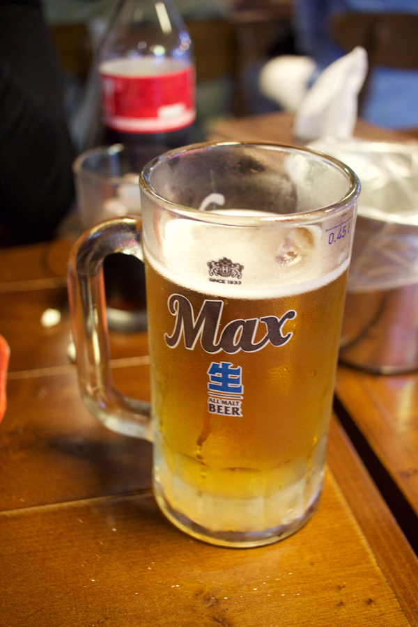 BHC Max beer