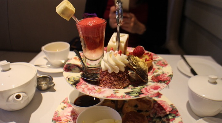 taj afternoon tea selection