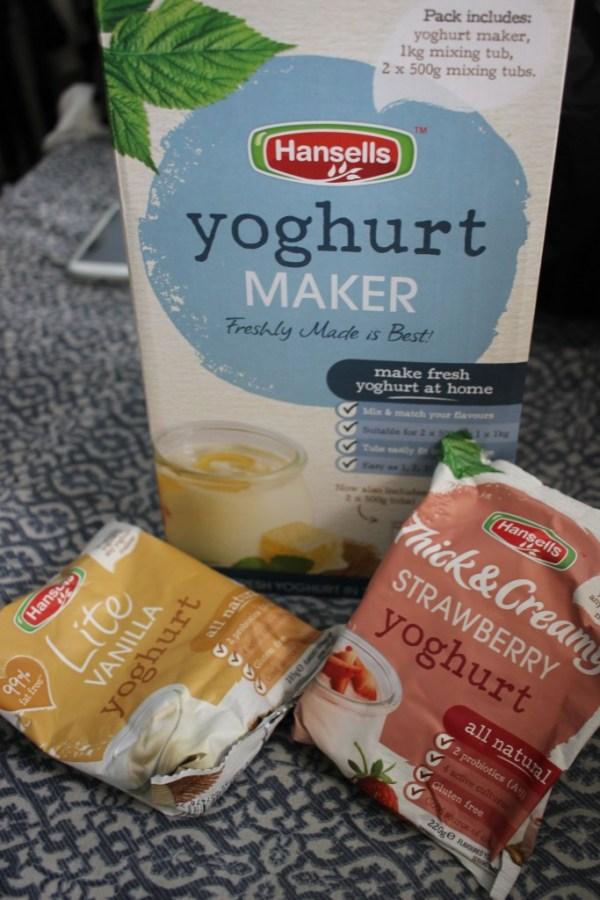 hansells yoghurt maker system