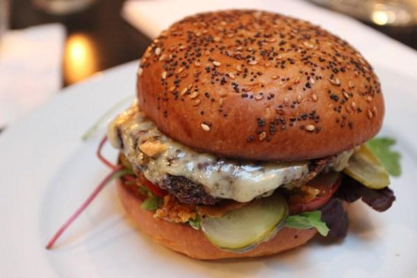 chuck steak cheese burger