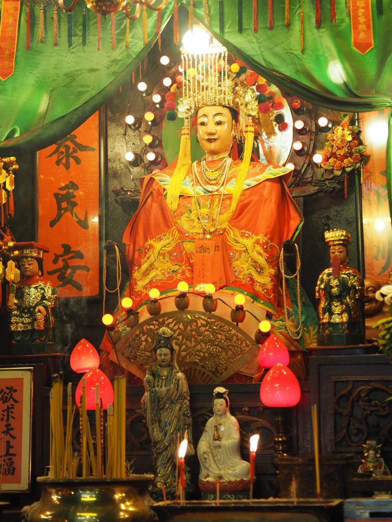 Tin Hau temple gods