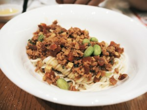 Noodles with Minced Pork Sauce