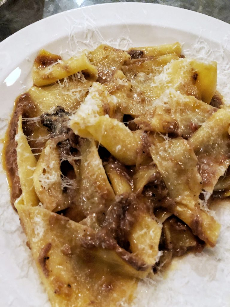 padella pappardelle 8 hours beef shin ragu