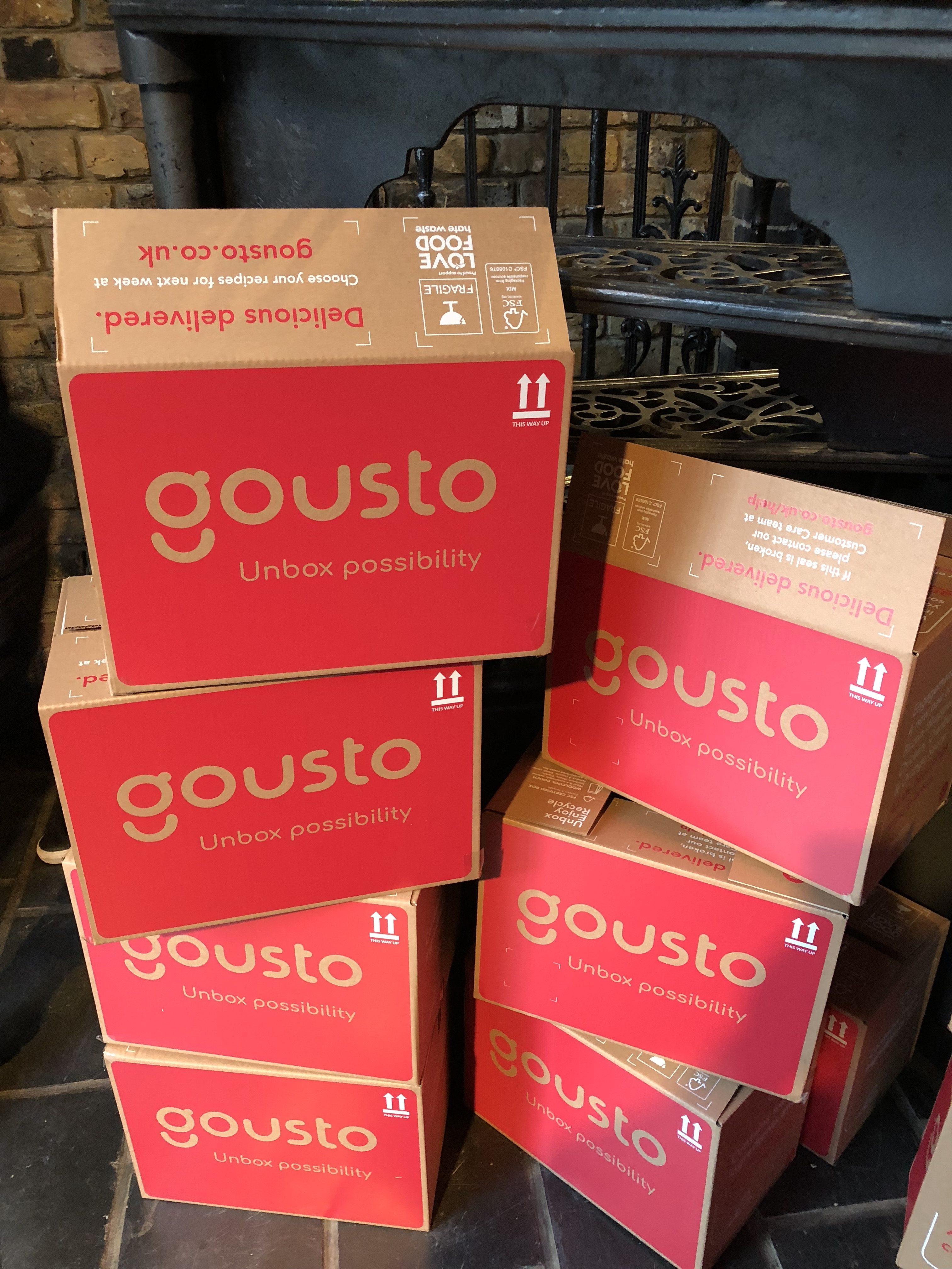 gousto boxes