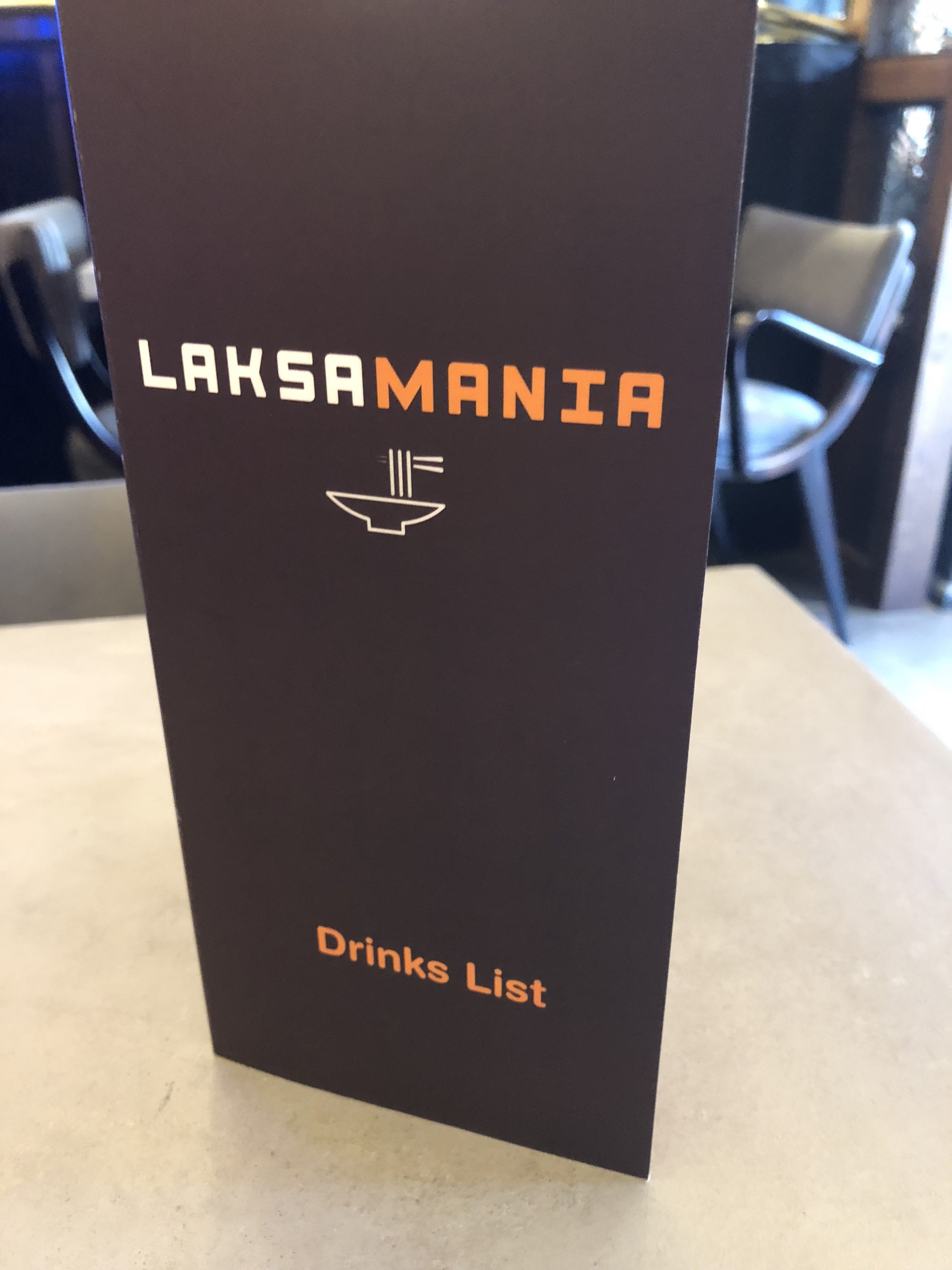 Laksamania menu 2