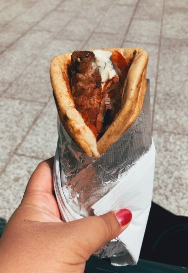 Kerb Rathbone Square – The Grilling Greek
