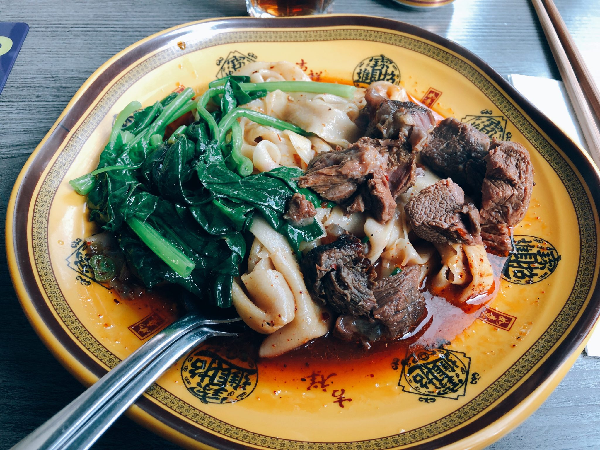 X'ian Biang Biang Review - Slurping spice special sauce