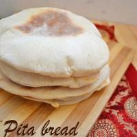 Pita bread recipe - how to make pita pockets