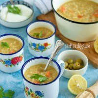 Lentil and Bulgar soup