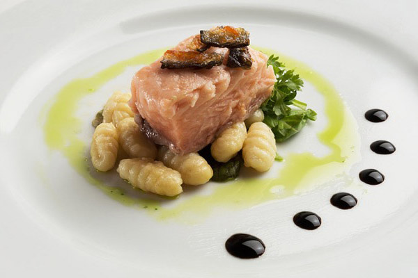 Gnocchi with Salmon