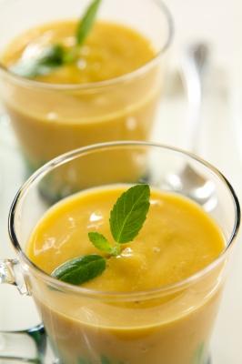 Green Orange Julius Recipe picture honk if you're vegan