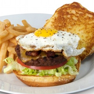 3) Cheesecake Factory's Farmhouse Burger photo