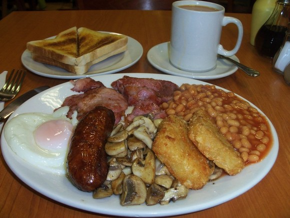 England breakfast photo