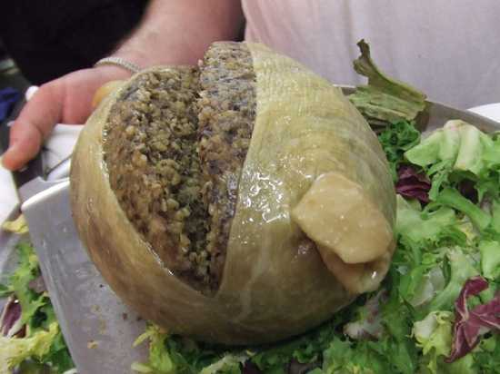 Haggis recipe photo