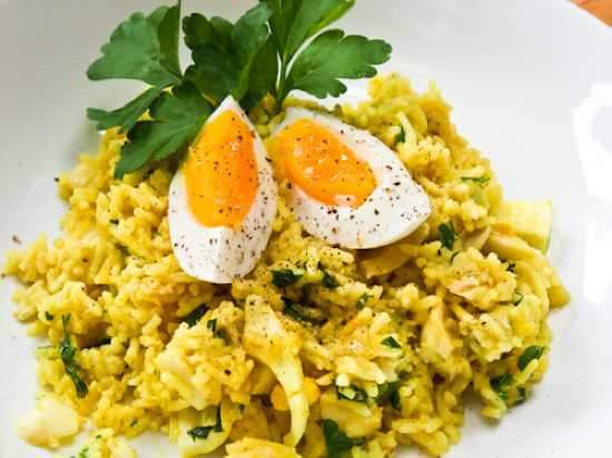 Kedgeree recipe photo