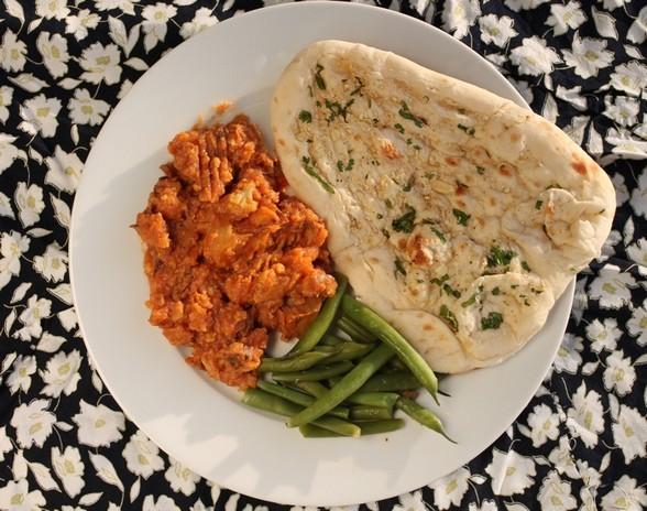 POTATO AND CAULIFLOWER CURRY recipe