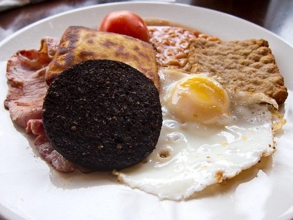 Scotland breakfast photo