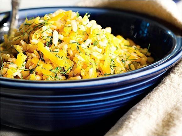 Butternut Squash Pilaf recipe