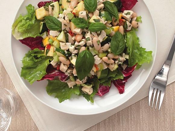 Chicken and White Bean Salad recipe