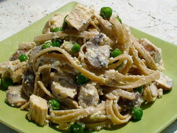 Creamy Parmesan Whole Grain Pasta and Tuna recipe