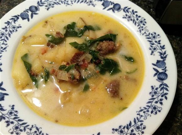 Olive Garden Copycat Zuppa Toscana recipe by Corrigan's Cookday