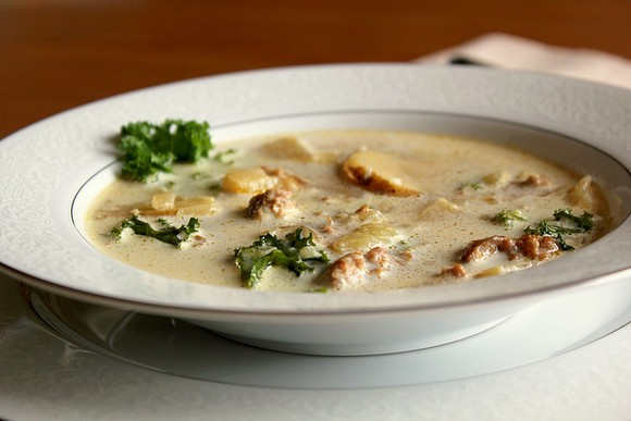 Olive Garden Inspired Zuppa Toscana Soup recipe by Fabulessly Frugal