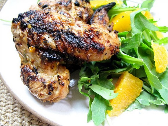 Orange and Rosemary Grilled Chicken recipe
